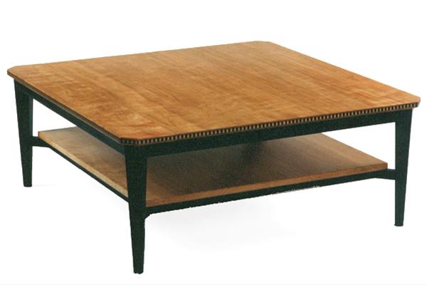 Cherry Two Level Coffee Table Dorset Custom Furniture - Two level coffee table