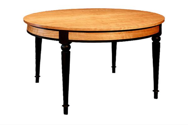 round expanding dining table dorset custom furniture