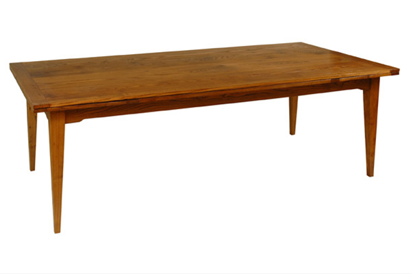 chestnut extension table dorset custom furniture