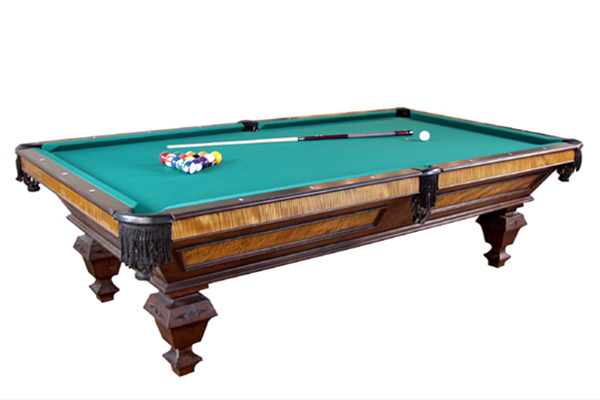 Classic Full Size Pool Table Dorset Custom Furniture - How big is a full size pool table